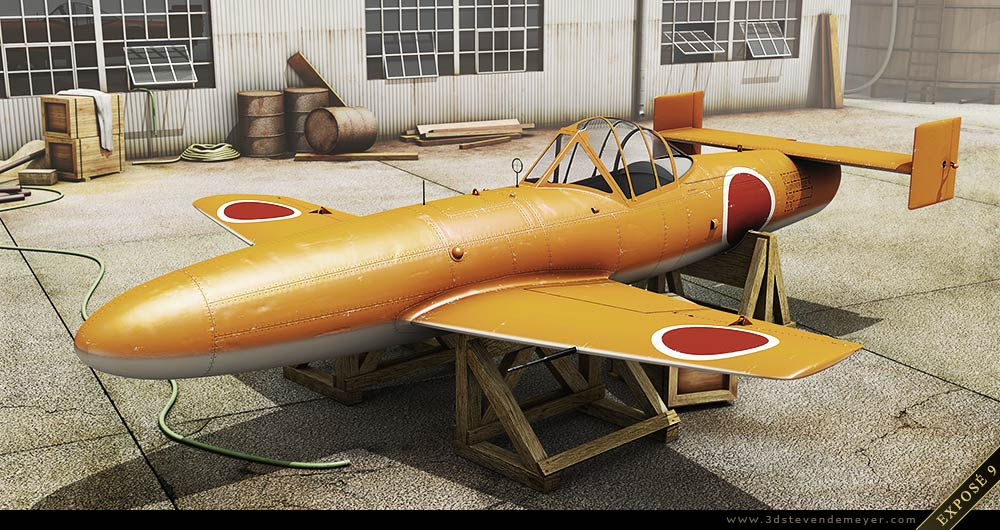 Freework - View more - Japanese Airplane WWII - SubD